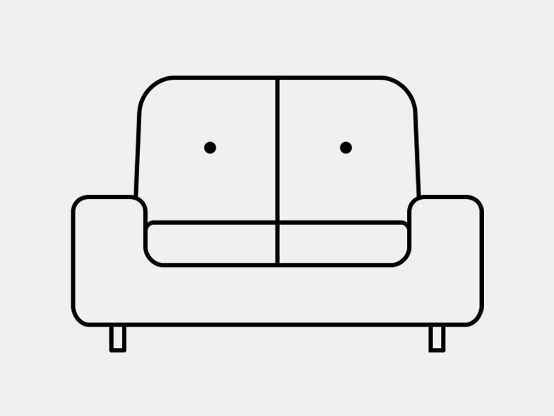 Sofa by Mundo from the Noun Project